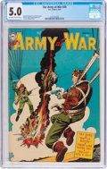 Golden Age (1938-1955):War, Our Army at War #26 (DC, 1954) CGC VG/FN 5.0 Off-white to whitepages....