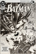 Original Comic Art:Covers, Kelley Jones Batman #496 Knightfall Cover Joker Original Art(DC, 1993)....