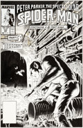 Original Comic Art:Covers, Mike Zeck and Bob McLeod Spectacular Spider-Man #131 CoverOriginal Art (Marvel, 1987)....