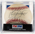 Autographs:Baseballs, Kirby Puckett Single Signed Baseball PSA/DNA NM+ 7.5. ...