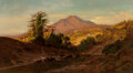 Paintings, William Keith (American, 1839-1911). Mount Tamalpais from the North West, 1879. Oil on canvas. 40 x 72-1/2 inches (101.6...