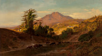 William Keith (American, 1839-1911) Mount Tamalpais from the North West, 1879 Oil on canvas 40 x