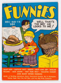 Platinum Age (1897-1937):Miscellaneous, The Funnies #15 (Dell, 1937) Condition: FN/VF....