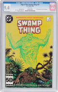 Modern Age (1980-Present):Horror, Saga of the Swamp Thing #37 (DC, 1985) CGC NM 9.4 White pages....