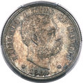 Coins of Hawaii , 1883 10C Hawaii Ten Cents MS66 PCGS. CAC....