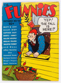 Platinum Age (1897-1937):Miscellaneous, The Funnies #13 (Dell, 1937) Condition: FN-....