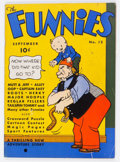 Platinum Age (1897-1937):Miscellaneous, The Funnies #12 (Dell, 1937) Condition: VG/FN....