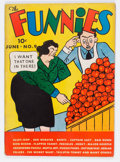 Platinum Age (1897-1937):Miscellaneous, The Funnies #9 (Dell, 1937) Condition: VG+....