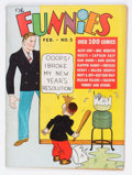 Platinum Age (1897-1937):Miscellaneous, The Funnies #5 (Dell, 1937) Condition: FN....