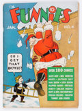 Platinum Age (1897-1937):Miscellaneous, The Funnies #4 (Dell, 1937) Condition: VG....