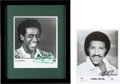 Music Memorabilia:Autographs and Signed Items, Al Green and Lionel Richie Signed Photos....