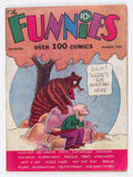Platinum Age (1897-1937):Miscellaneous, The Funnies #2 (Dell, 1936) Condition: GD/VG....