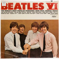 Movie/TV Memorabilia:Recordings, Beatles VI Still Sealed First Issue Mono LP (Capitol 2358,1965)....