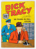 Golden Age (1938-1955):Crime, Four Color (Series One) #6 Dick Tracy (Dell, 1940) Condition: GD-....