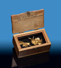 """Minerals:Golds, """"Winged """"Gold. Nevada, USA. ... (Total: 2 Items)"""