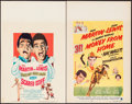 """Movie Posters:Comedy, Scared Stiff & Other Lot (Paramount, 1953). Window Cards (2) (14"""" X 22""""). Comedy.. ... (Total: 2 Items)"""