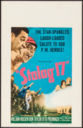 "Movie Posters:War, Stalag 17 (Paramount, 1953). Window Card (14"" X 22""). War.. ..."