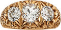 Estate Jewelry:Rings, Victorian Diamond, Gold Ring. ...