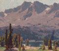 Fine Art - Painting, American, Edgar Alwin Payne (American, 1883-1947). High Sierras. Oilon canvas. 24 x 28 inches (61.0 x 71.1 cm). Signed lower righ...