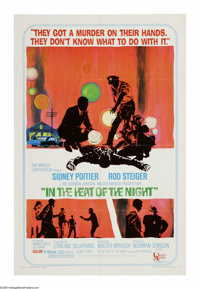 "In the Heat of the Night (United Artists, 1967). One Sheet (27"" X 41""). An unusual murder occurs in a small Mi..."