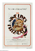 "Movie Posters:Animated, The Nine Lives of Fritz the Cat (AIP, 1974). One Sheet (27"" X 41"").This sequel to the first X-rated animated film, ""Fritz t..."