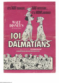 Movie Posters:Animated, One Hundred and One Dalmatians (Buena Vista, R-1969). Pressbook (Multiple Pages). Pressbooks are sent out to theater owners ...