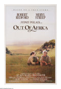 "Movie Posters:Drama, Out of Africa (MCA/Universal, 1985). One Sheet (27"" X 41""). Taken from the works of Isak Dinesen, this Oscar-winning Best Pi..."