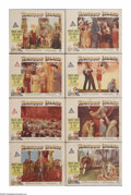 """Movie Posters:Musical, Rainbow Island (Paramount, 1944). Lobby Card Set of 8 (11"""" X 14""""). Three merchant seamen land on a Pacific island in order t... (Total: 8 Items)"""
