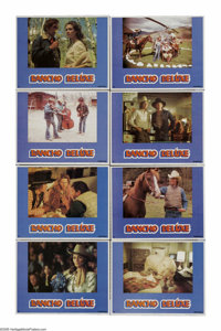 "Rancho Deluxe Lot (United Artists, 1975). One Sheet (27"" X 41"") and Lobby Card Set of 8 (11"" X 14"")..."