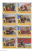 "Movie Posters:War, The Red Badge of Courage (MGM, 1951). Lobby Card Set of 8 (11"" X14""). John Huston's adaptation of the Stephen Crane novel a...(Total: 8 Items)"