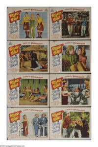 "Road to Bali (Paramount, 1952). Lobby Card Set of 8 (11"" X 14""). Bob Hope and Bing Crosby star as song and dan..."