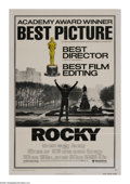 """Movie Posters:Sports, Rocky (United Artists, 1977). One Sheet (27"""" X 41"""") Academy Awards. Rocky Balboa, a self proclaimed """"bum"""" from the streets o..."""