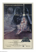 """Movie Posters:Science Fiction, Star Wars (20th Century Fox, 1977). One Sheet (27"""" X 41""""). GeorgeLucas' mythological sci-fi adventure has passed into movie..."""