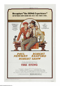 """Movie Posters:Crime, The Sting (Universal, R-1977). One Sheet (27"""" X 41""""). HenryGondorff and Johnny Hooker (Paul Newman and Robert Redford) are ..."""