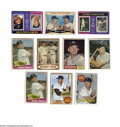Baseball Cards:Lots, 1960-1975 Topps Mickey Mantle Group Lot of 10. Includes 1960 Topps#160 Rival All Stars (VG); 1961 Topps #300 Mickey Mantle ...