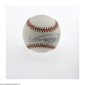 Autographs:Baseballs, Vladimir Guerrero Signed Baseball, PSA Mint 9. A gorgeous sweetspot signature from the six-time All-Star for the Angels, w...