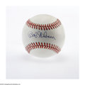 Autographs:Baseballs, Bob Gibson Single Signed Baseball. ONL (Giamatti) ball offers astellar 10/10 sweet spot signature from this magician of th...