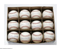 Autographs:Baseballs, Edwin Donald Snider Single Signed Baseballs Lot of 12. A dozenflawless singles bearing the Duke's rare full name signature...(Total: 12 )