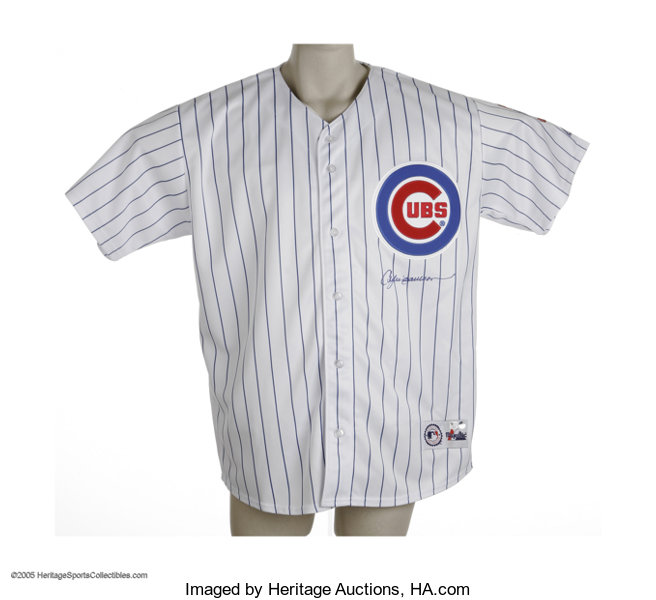 new style 855a3 d4747 Andre Dawson Signed Jersey. The pride of Wrigley. A perfect ...