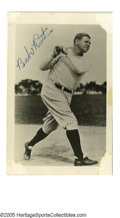 Autographs:Photos, 1948 Babe Ruth Signed Photograph. Less than three months before the Babe succumbed to the cancer that had ravaged his body,...