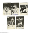 Autographs:Sports Cards, Hall of Famers Signed 1974 TCMA Cards Lot of 18. Postcard-sizedblack and white images are signed in perfect ink and sharpi...