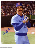 """Autographs:Photos, Chicago Cubs Signed Photographs Lot of 26. Wrigley's finest arewell-represented in this assortment of 8x10"""" photos signed..."""