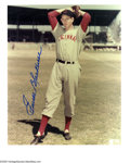 "Autographs:Photos, Cincinnati Reds Signed Photographs Lot of 15. Nice selection of8x10"" photos with individual signatures from the players pi..."