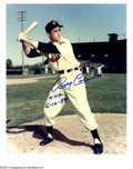 """Autographs:Photos, Cleveland Indians Signed Photographs Lot of 52. Fifty-two Indians,all in a row, each appearing on his own individual 8x10""""..."""