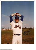 Autographs:Photos, New York Mets Signed Photographs Lot of 16. Multiples of Kranepooland Gooden join Koosman and Tommy Davis and the rest of ...