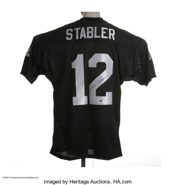 best service bb5d5 942ee Kenny Stabler Signed Jersey. Excellent Oakland Raiders ...