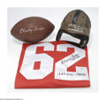 Football Collectibles:Others, Charley Trippi/Chicago Cardinals Memorabilia Lot. A step back in time to a simpler time in the NFL. Presented are: 1) Char...