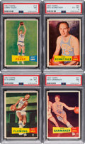 Basketball Cards:Lots, 1957 Topps Basketball Collection (33). ...