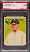 Baseball Cards:Singles (1930-1939), 1933 Goudey Napoleon Lajoie #106 PSA Mint 9 - None Higher....