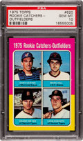 Baseball Cards:Singles (1970-Now), 1975 Topps Gary Carter - Rookie Catchers- #620 PSA Gem Mint 10....